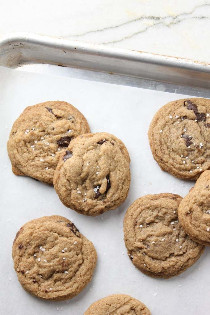 Whole Wheat Chewy Chocolate Chip Cookies-8
