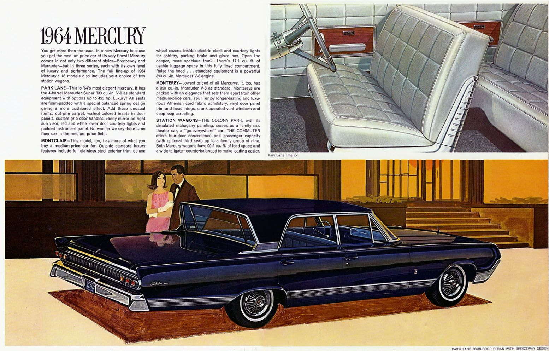 Mercury Park Lane  Mercury Car Brochures