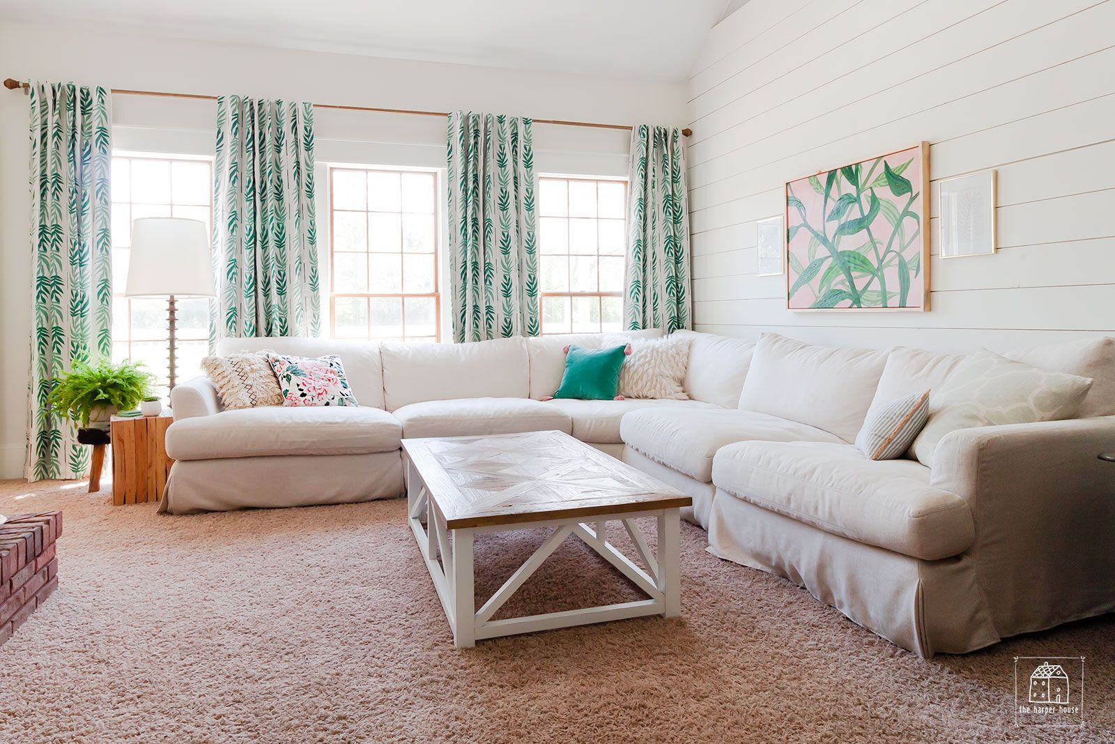 Our Living Room Refresh with Drew Barrymore's Flower Home