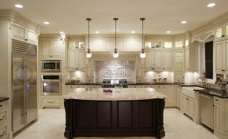 Pot Lights For Kitchen Cabinets Kitchen Recessed Lighting