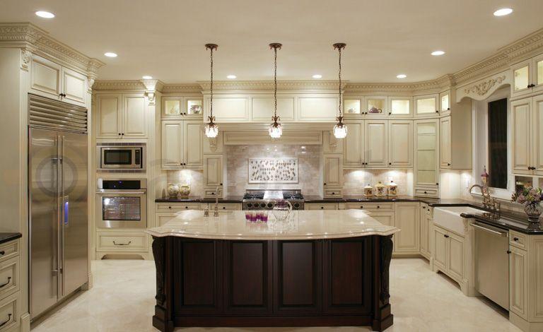 Recessed In Ceiling Lights Luxury Kitchen Design Kitchen