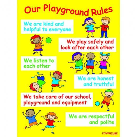 playground signs home positive playtime playground rules sign