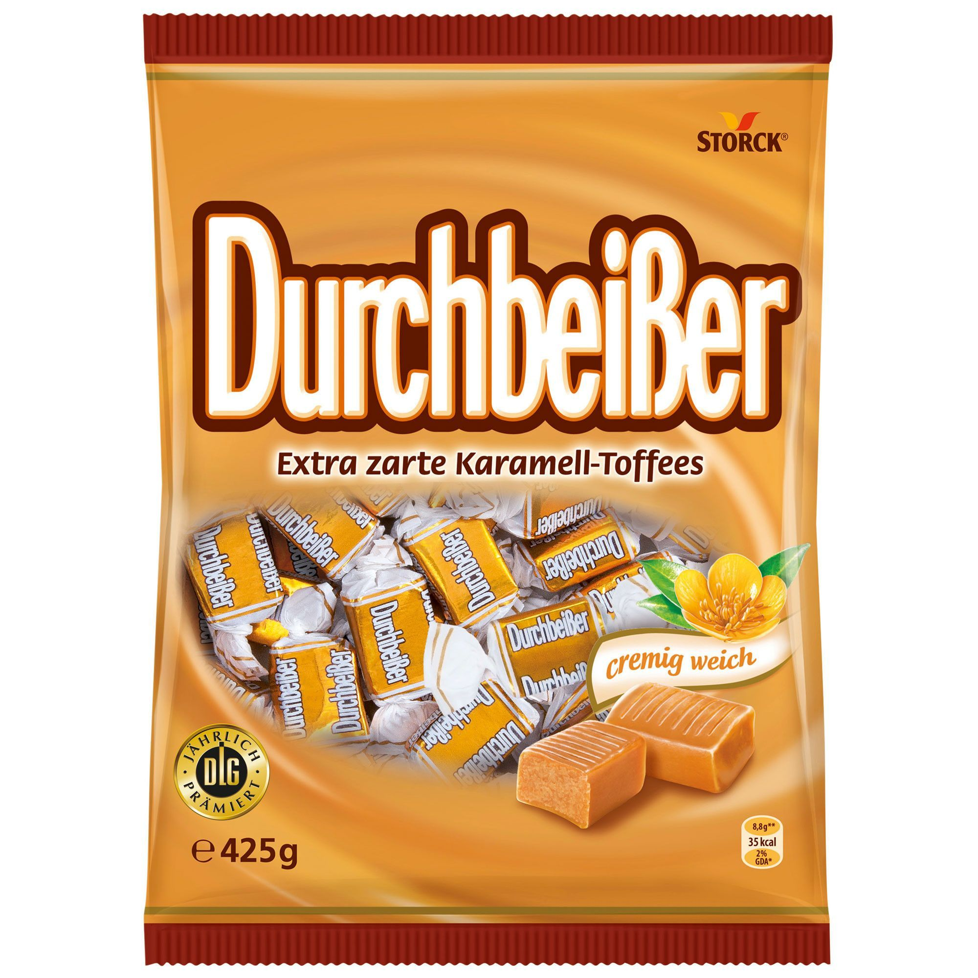 in usa storck durschbeisser toffee candies 425g made in germany products pinterest. Black Bedroom Furniture Sets. Home Design Ideas