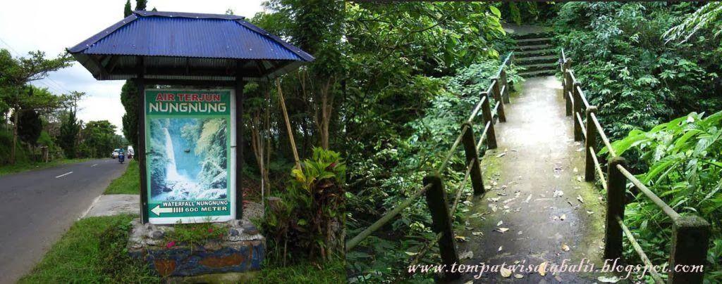 Keindahan Air Terjun Nungnung Bali Tempat Wisata Di Bali Bali Tempat Air Terjun