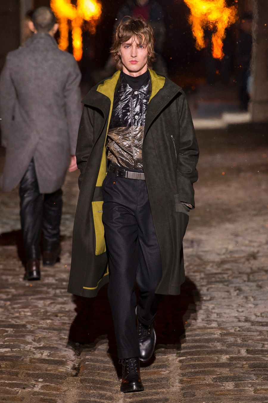 Hermès fall menswear fashion show in homem fall