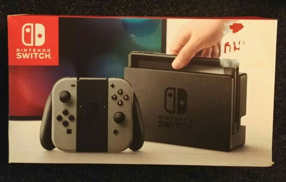 Nintendo switch console black box only no system or