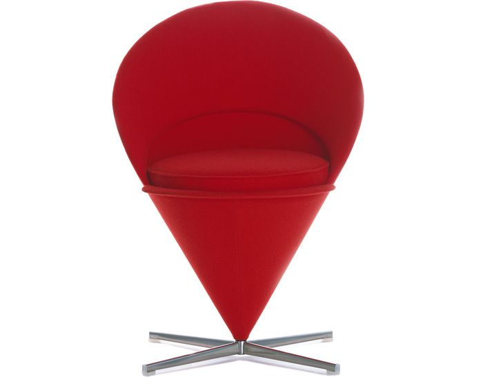 Verner Panton Cone Chair Produced By Vitra White Leather Dining Chairs Ikea Hanging Chair Molded Plastic Chairs