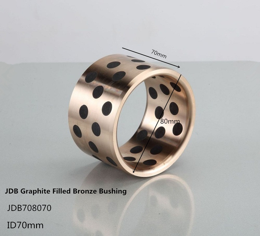 44.82$  Watch here - http://alih7d.worldwells.pw/go.php?t=32221424081 - JDB708070 brass Based Graphite Bearing,   graphite throwout bearing , self-lubricated slidingbearing 44.82$