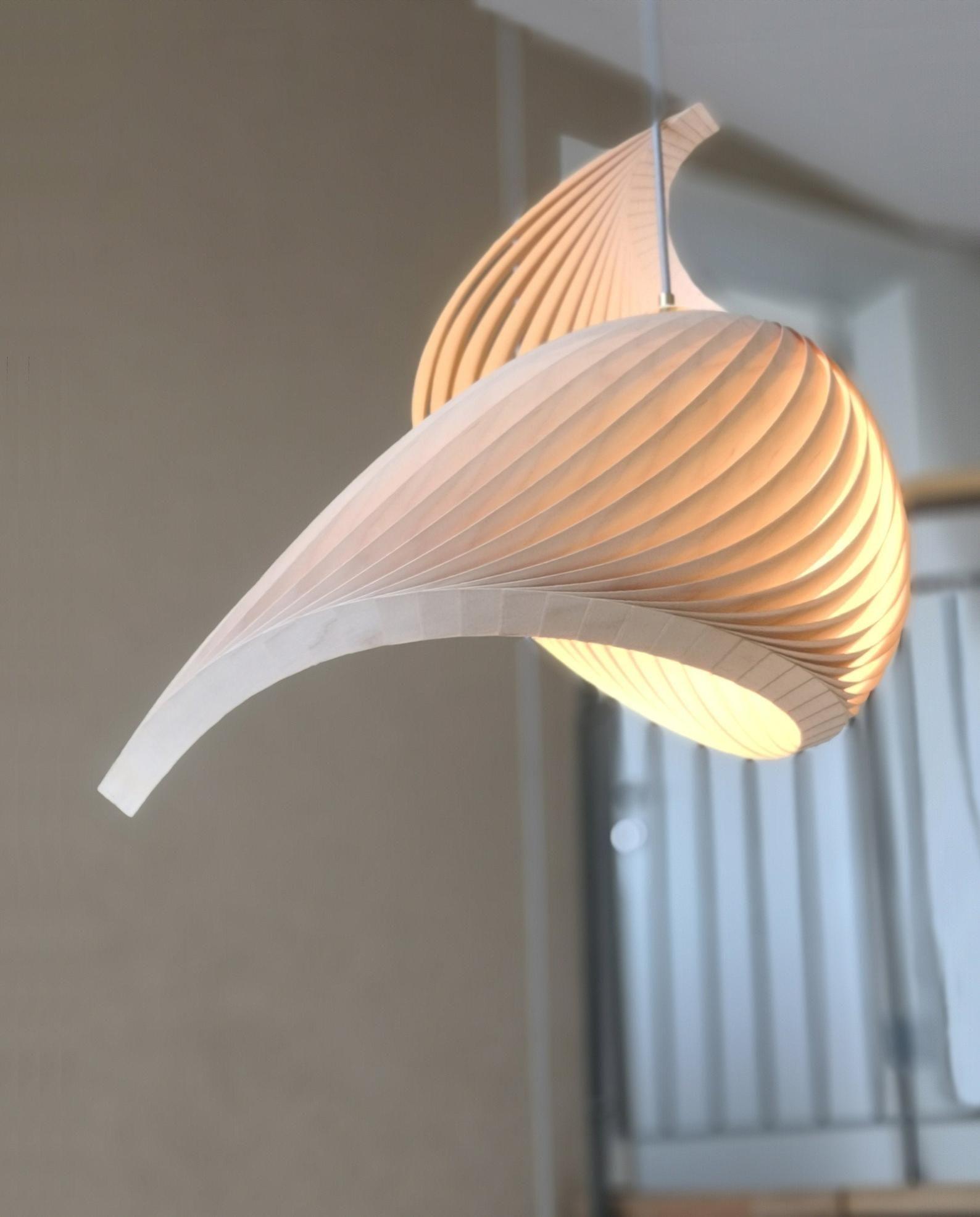 Pendant Light Suspension Luminaire Pendant Lamp Veneer Lamp
