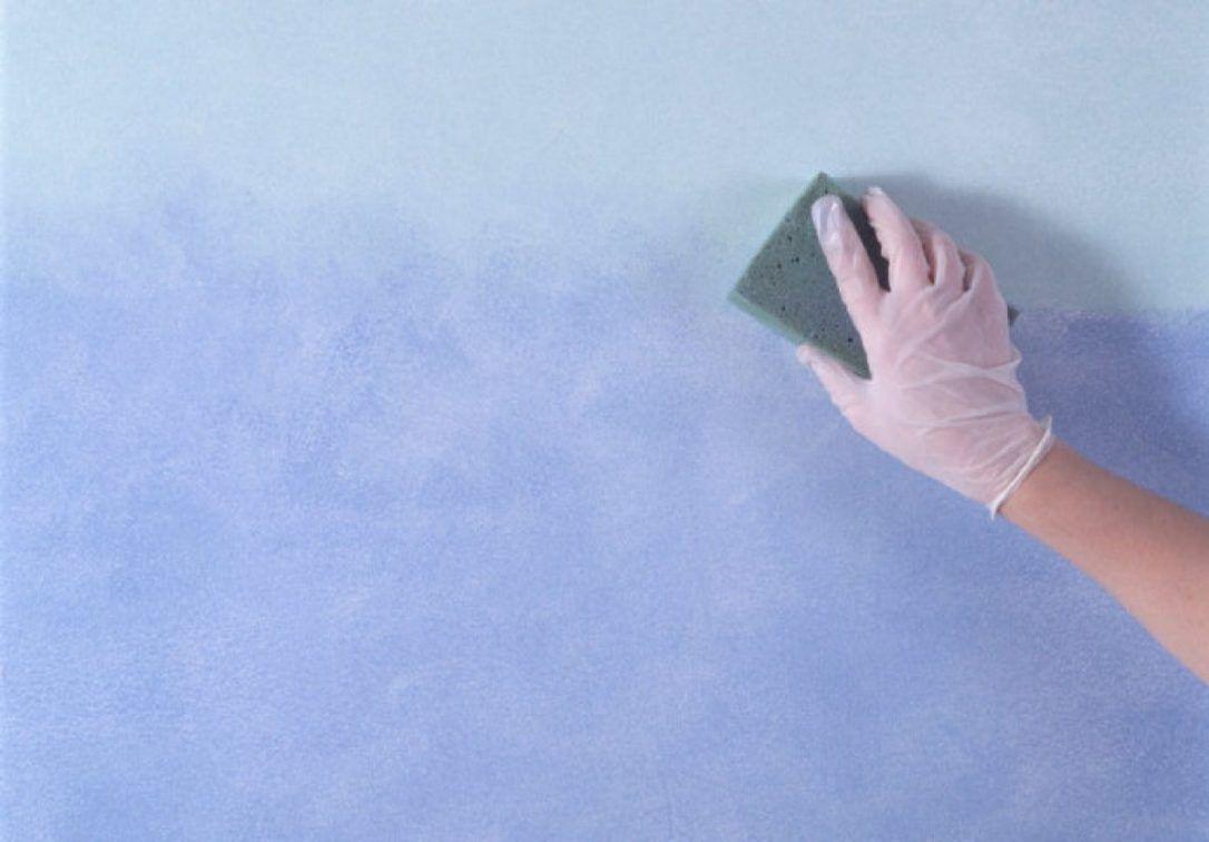 Peinture À L Éponge Sur Mur 2 techniques pour obtenir un joli effet dégradé sur vos murs