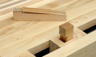 Square Vs Round Dog Holes Discussion Woodworking Benches