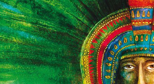 Penacho De Moctezuma Desata Pasiones En Mexico Y Austria El Penacho De Moctezuma Arte Moctezuma Ii