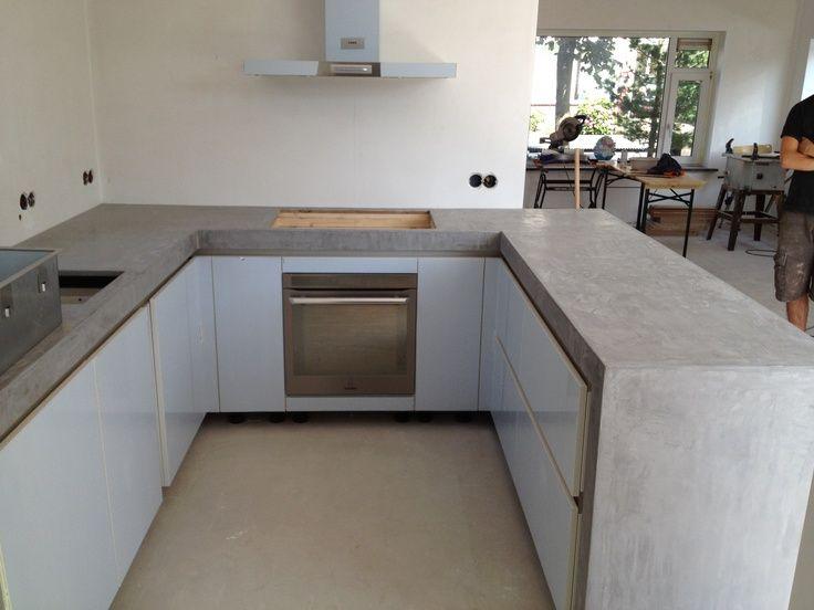Afbeeldingsresultaat voor betonlook keukenblad ikea keuken pimp