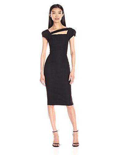 Stop Staring Womens Malana Fitted Dress Black 16   More info could be found  at the 94d841b3e