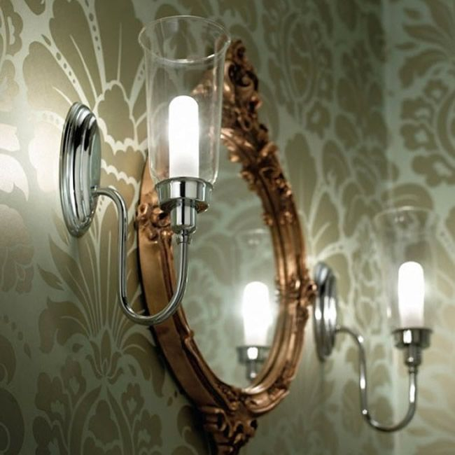 Imperial Avila Wall Light With Glass Shade - IMPER1096 (XLP1000400 ...