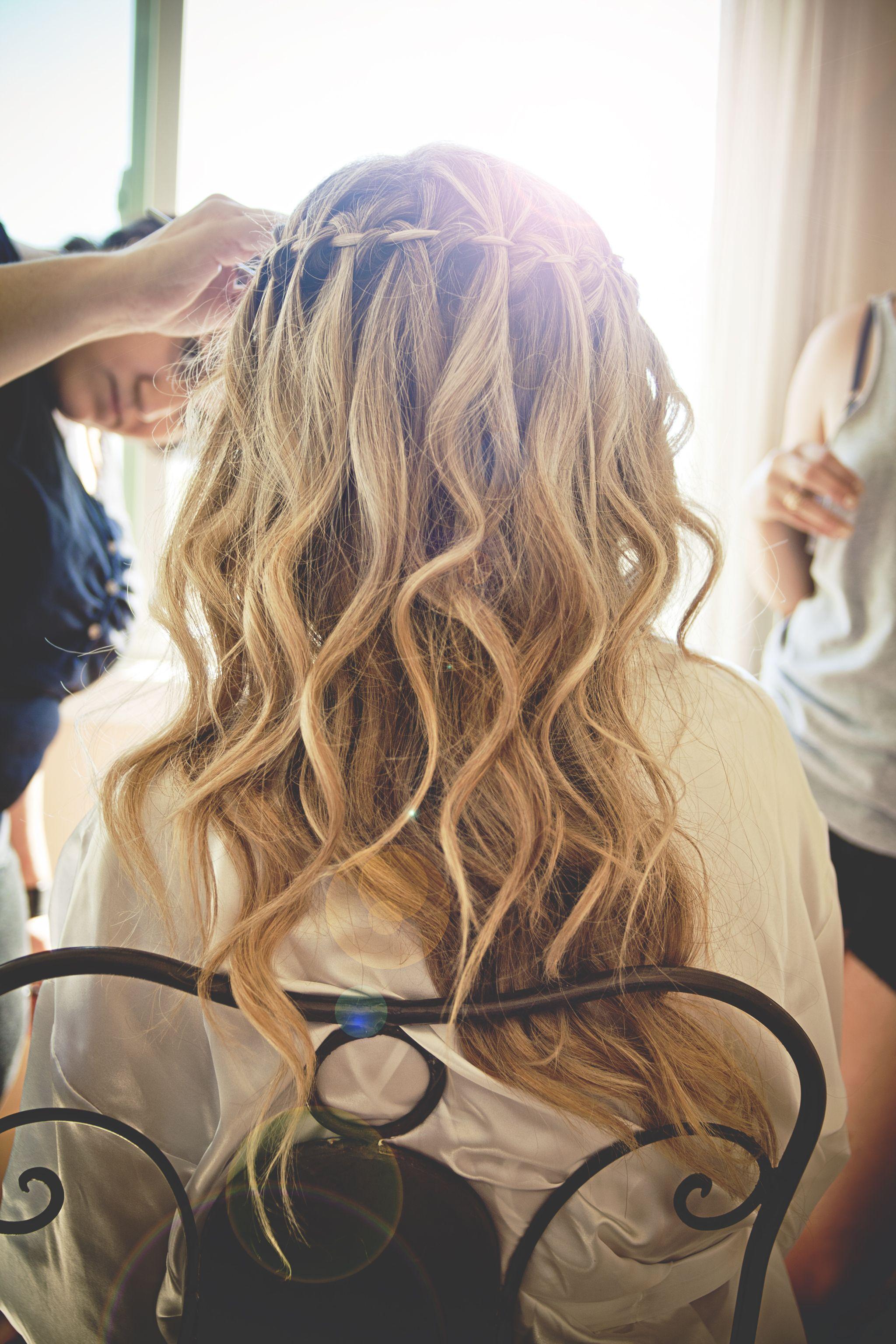 Wedding beach hair  Samantha Ruby Photography  Beautiful Beach Wedding hair  Weddings