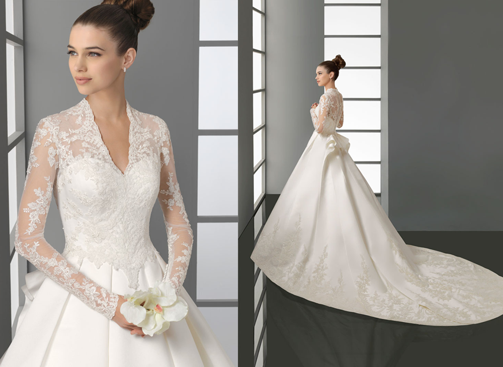 This kate middleton style wedding dress is perfect for a for Wedding dress princess kate