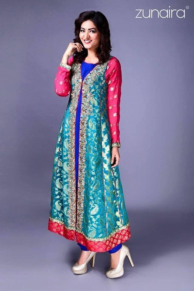 New Dress Design Zunairas Collection