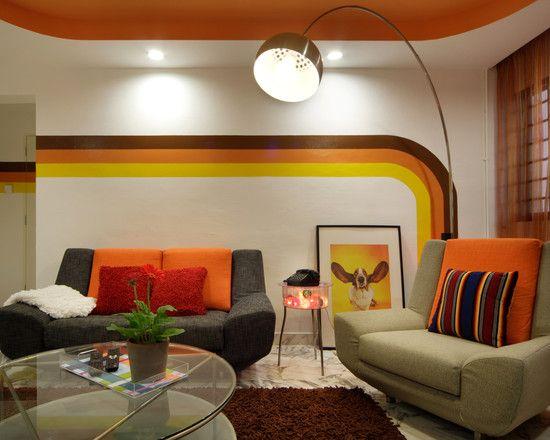 retro living room ideas | home interior design