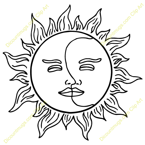 Clipart Half Moon Face Clipart Sun And Moon Clipart Blue Moon Clipart Sun And Moon Drawings Moon Drawing Drawings