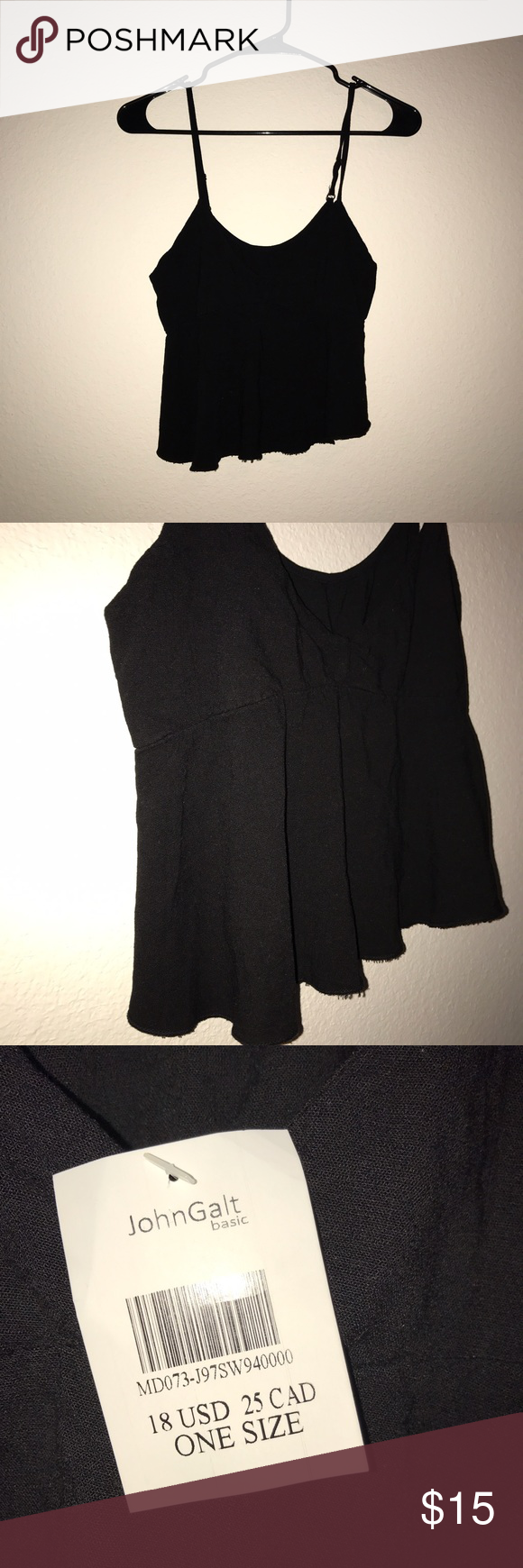 NWT Brandy Melville Tank NWT. Adjustable straps Brandy Melville Tops Tank Tops