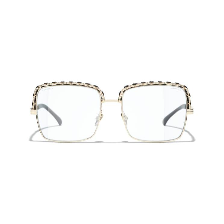 Square Sunglasses Gold Square Sunglasses Chanel In 2021 Gold Sunglasses Chanel Sunglasses Square Sunglasses