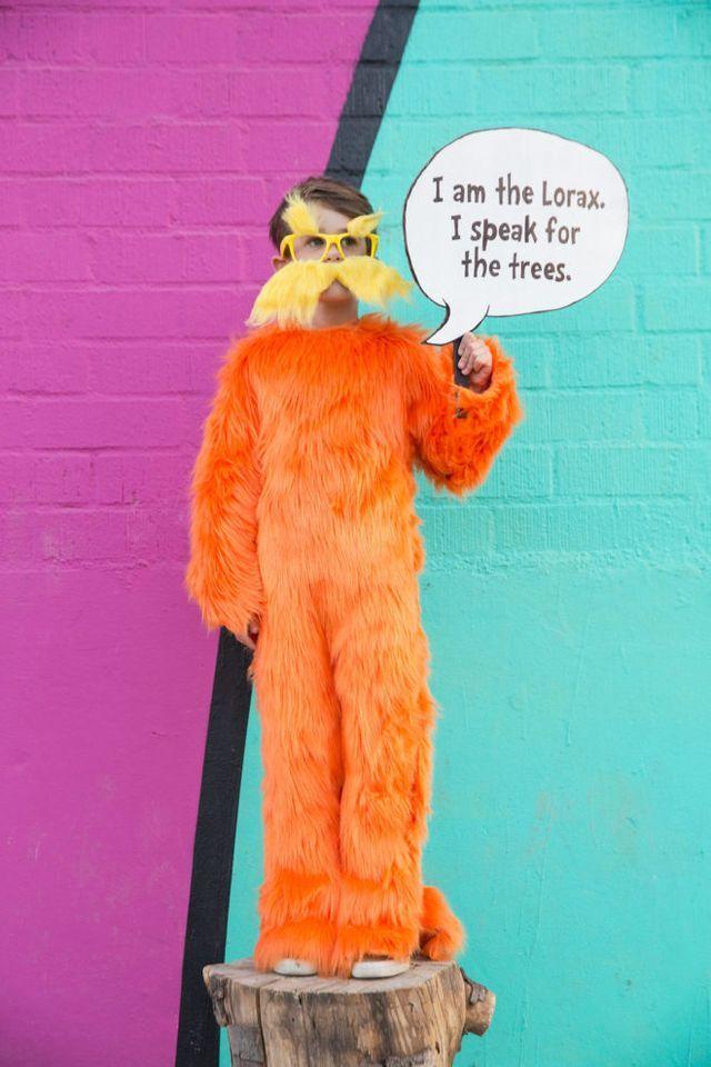 DIY Halloween Pinterest Lorax costume, Lorax and DIY Halloween - dr seuss halloween costume ideas