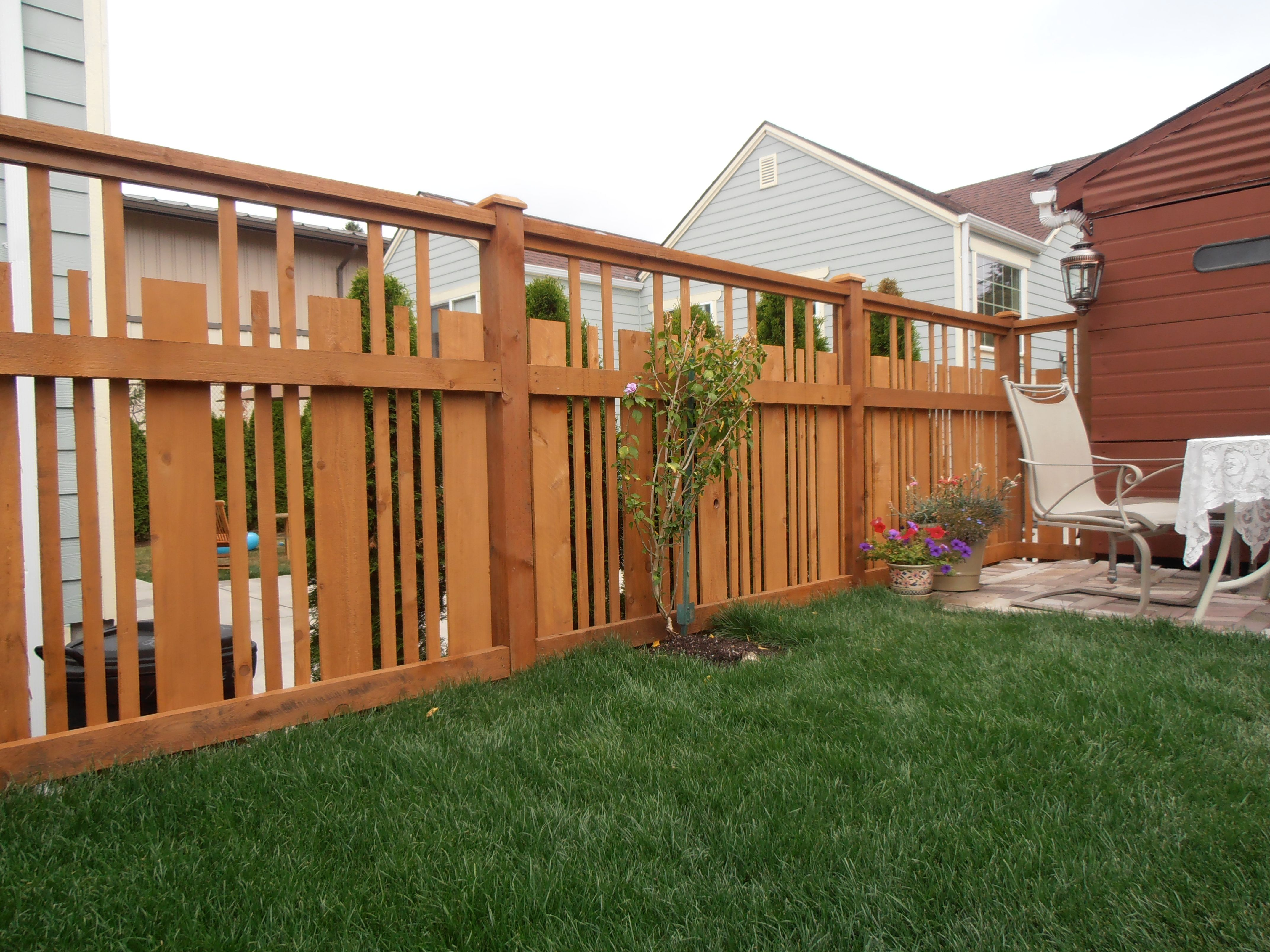 Wooden Fence Designs I absolutely love this fence design its a very fresh modern look i absolutely love this fence design its a very fresh modern look without requiring any different or special materials than a traditional wooden fence workwithnaturefo