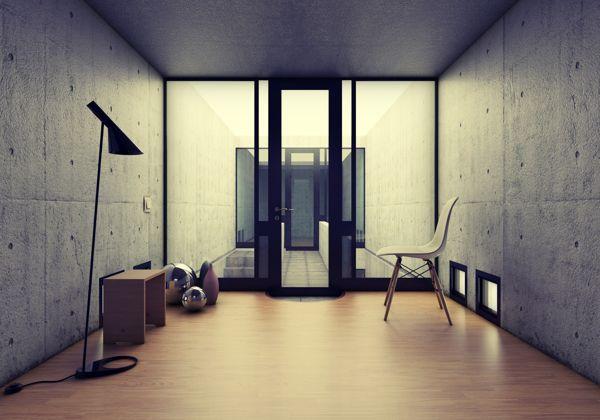 Azuma house tadao ando house arquitectura dise o arquitectura y casas - Arquitectos de interiores famosos ...