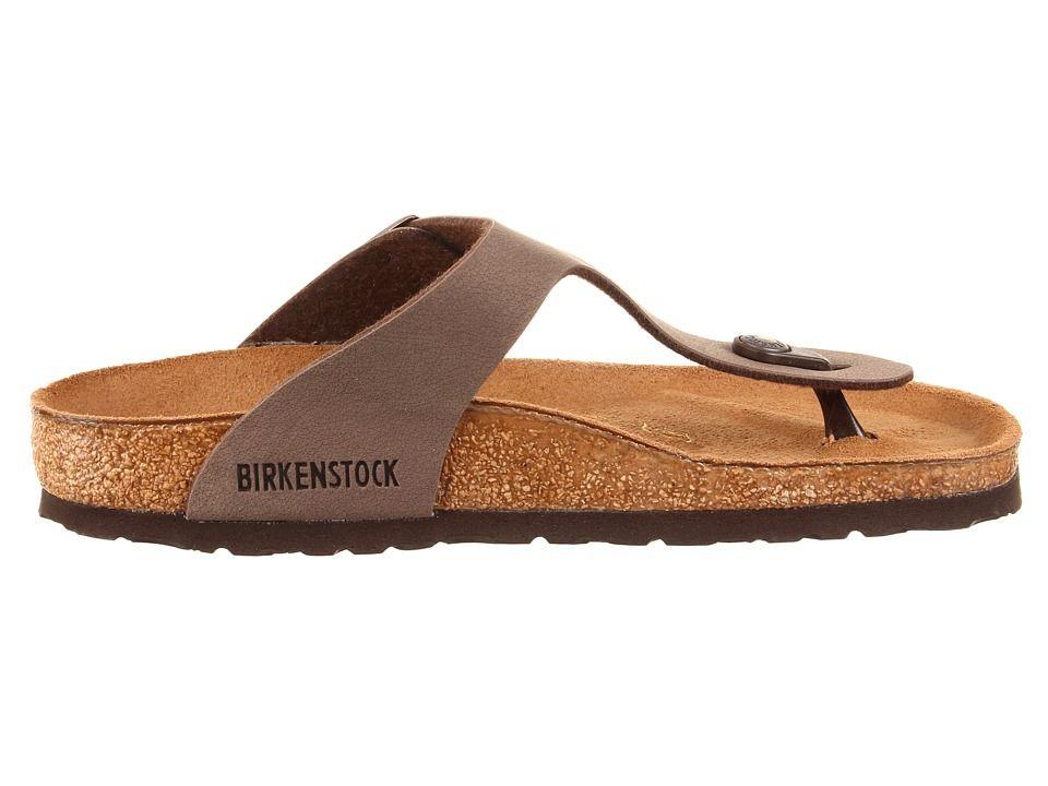 8dad222cc2fe Birkenstock Gizeh Birkibuctm Women s Shoes Mocha Birkibuctm ...