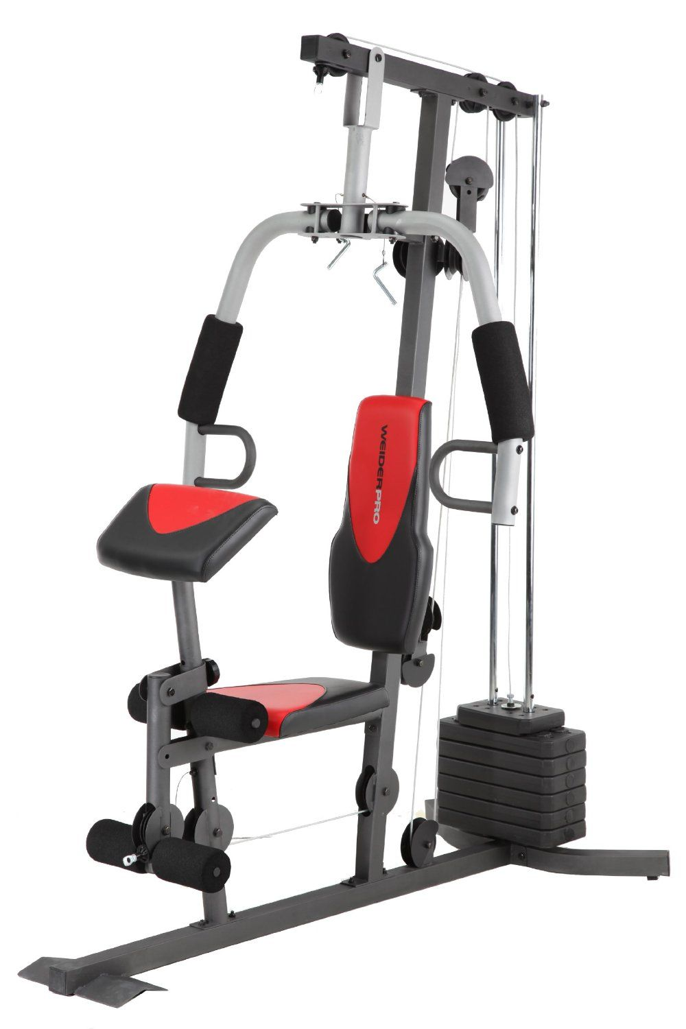 Weider weight system bayou fitness total trainer pilates