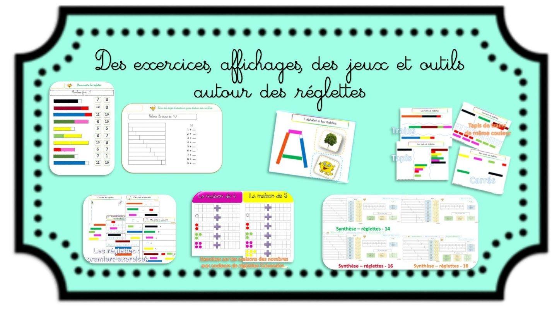 Les Reglettes Cuisenaire De La Decouverte Aux Nombres Sur