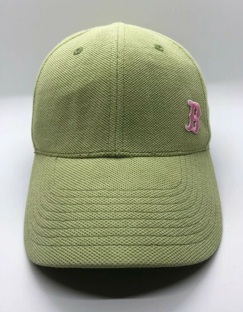 Details about MLB Boston Red Sox Women Cap Hat New Era Green Pink