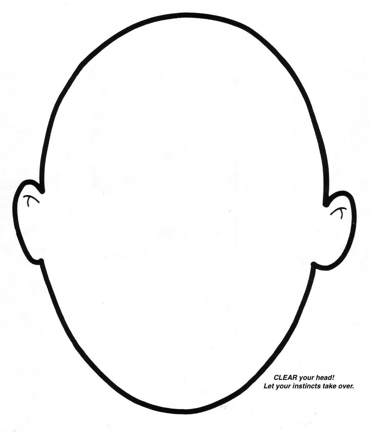 Овал лица картинки для детей