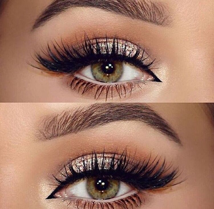 Love This Eye Makeup Perfectly Golden With Lashes Need To Learn