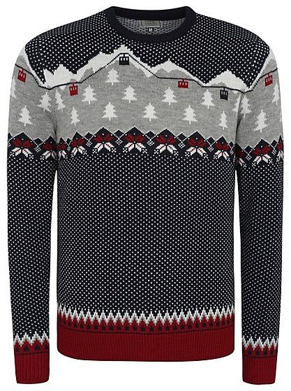 Cable Car Fairisle Knitted Jumper, read reviews and buy online at ...