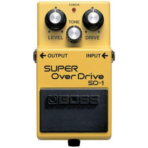 Boss Sd 1 pedal de efectos