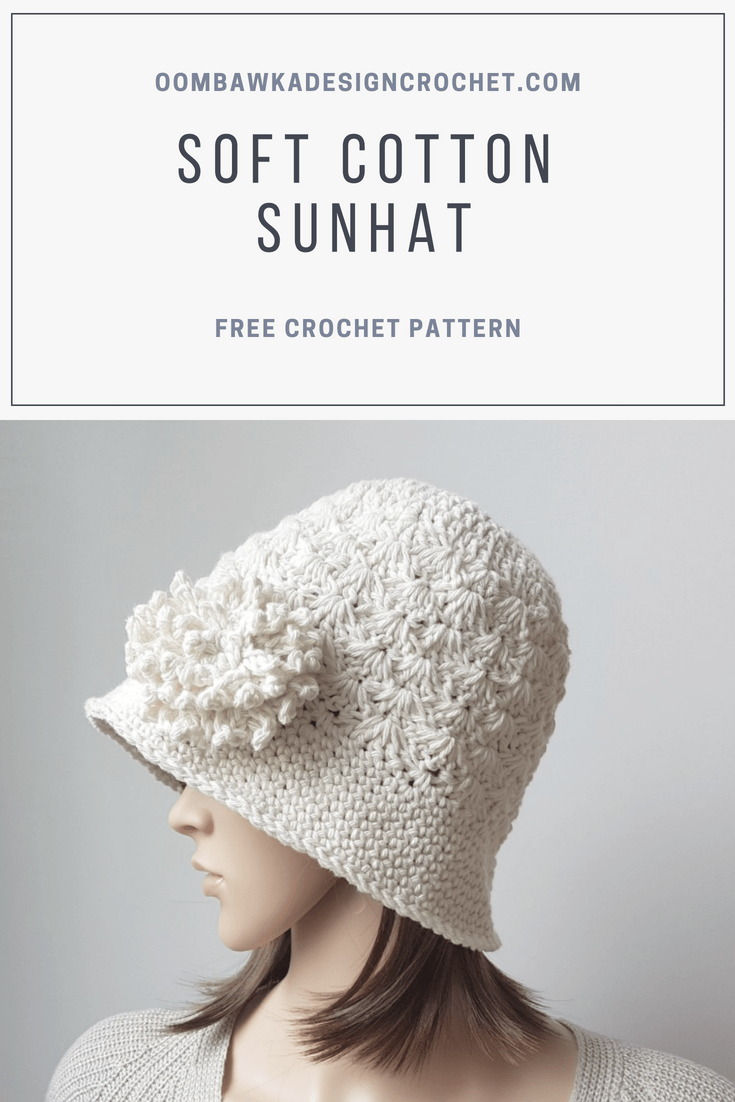 Soft Cotton Sunhat Pattern | handwarmer,leg cuffs, ear warmers ...