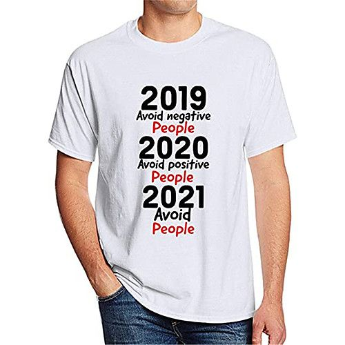 Men's Unisex T shirt Graphic Prints Hot Stamping Plus Size Print Casual Short Sleeve Tops Basic Casual Fashion 100% Cotton Round Neck Blue Gray White / Summer