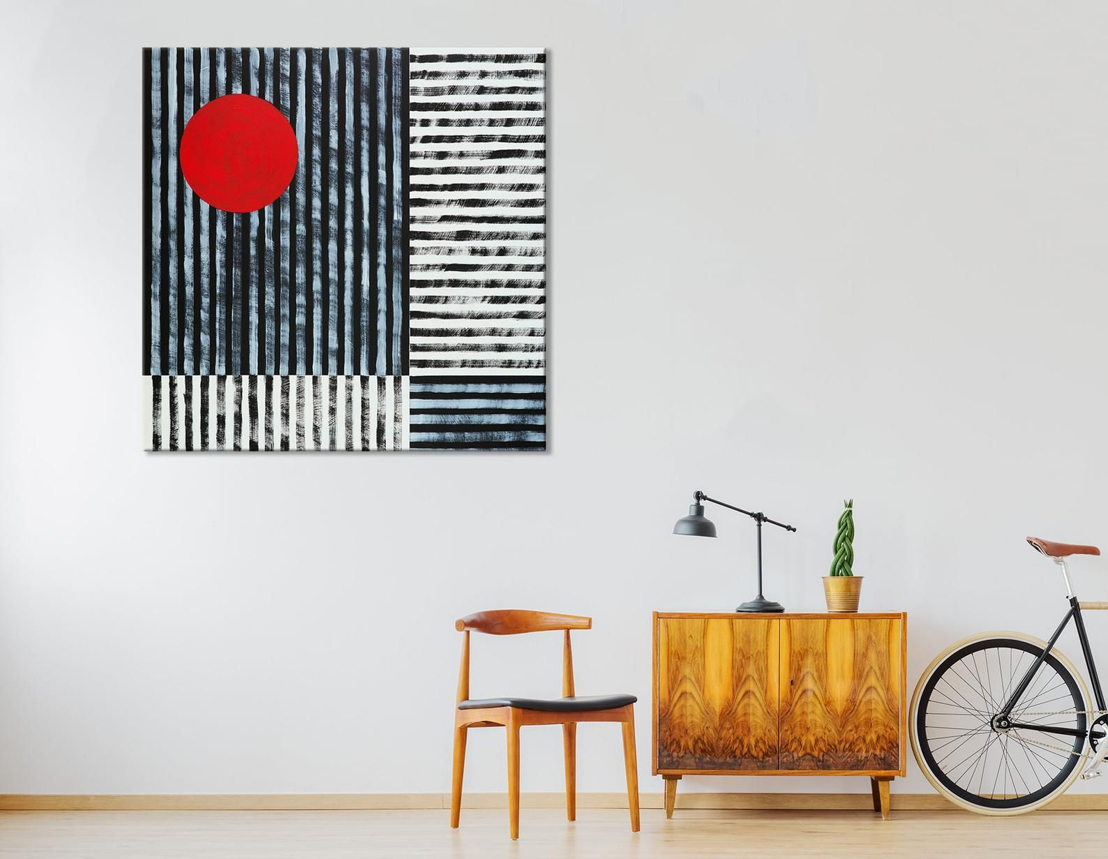 Red Wall Decor Japanese Wall Decor Black And Red Wall Art