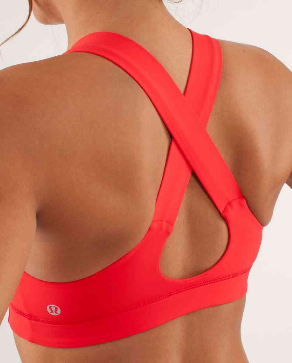 Lululemon All Sport Bra In Love Red Sportkleding Kleding Sport