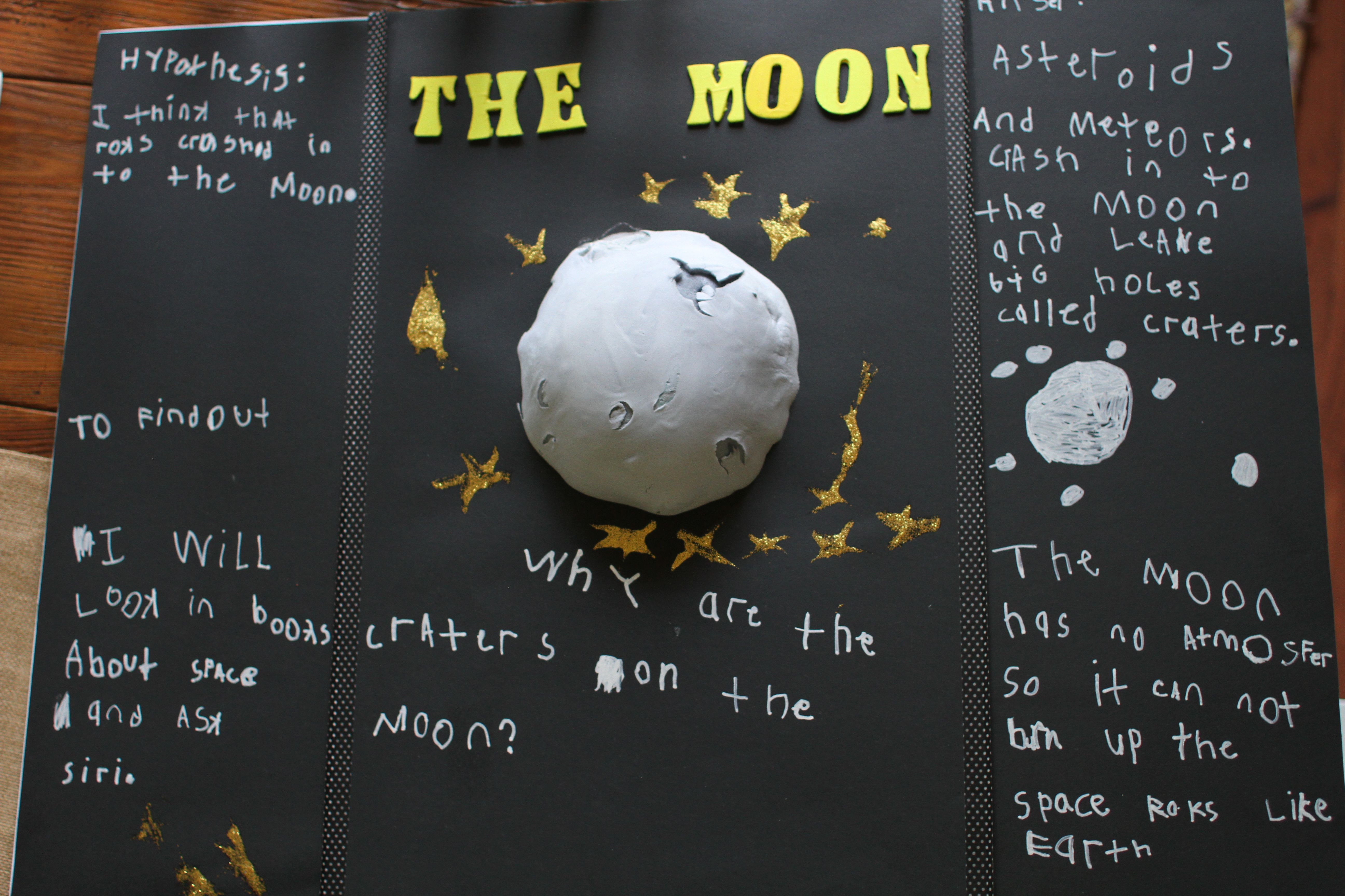 Simple Science Experiment For Kids Why Are There Craters