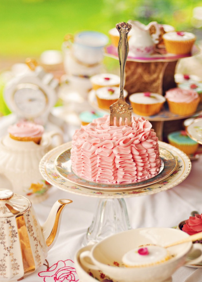 Ruffles and Roses - tea party :)