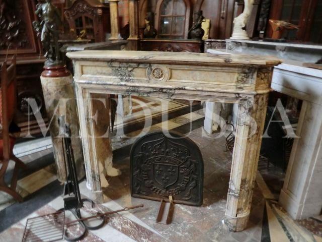Scw-322 antieke schoorsteenmantels in marmer
