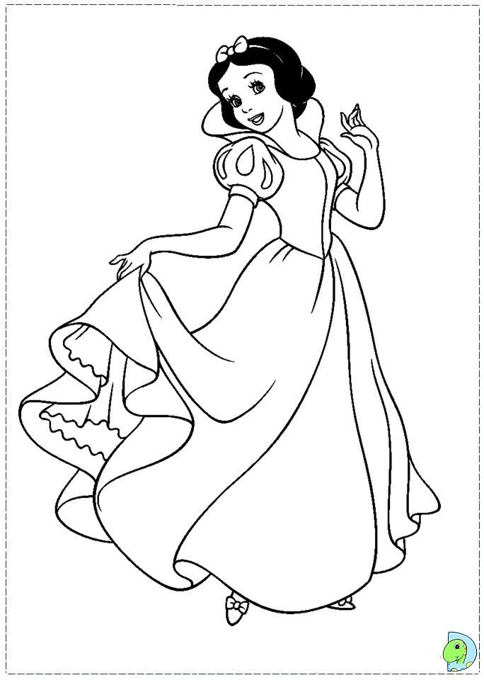 Coloring Site Disney Princess Snow White Pages At Minister In