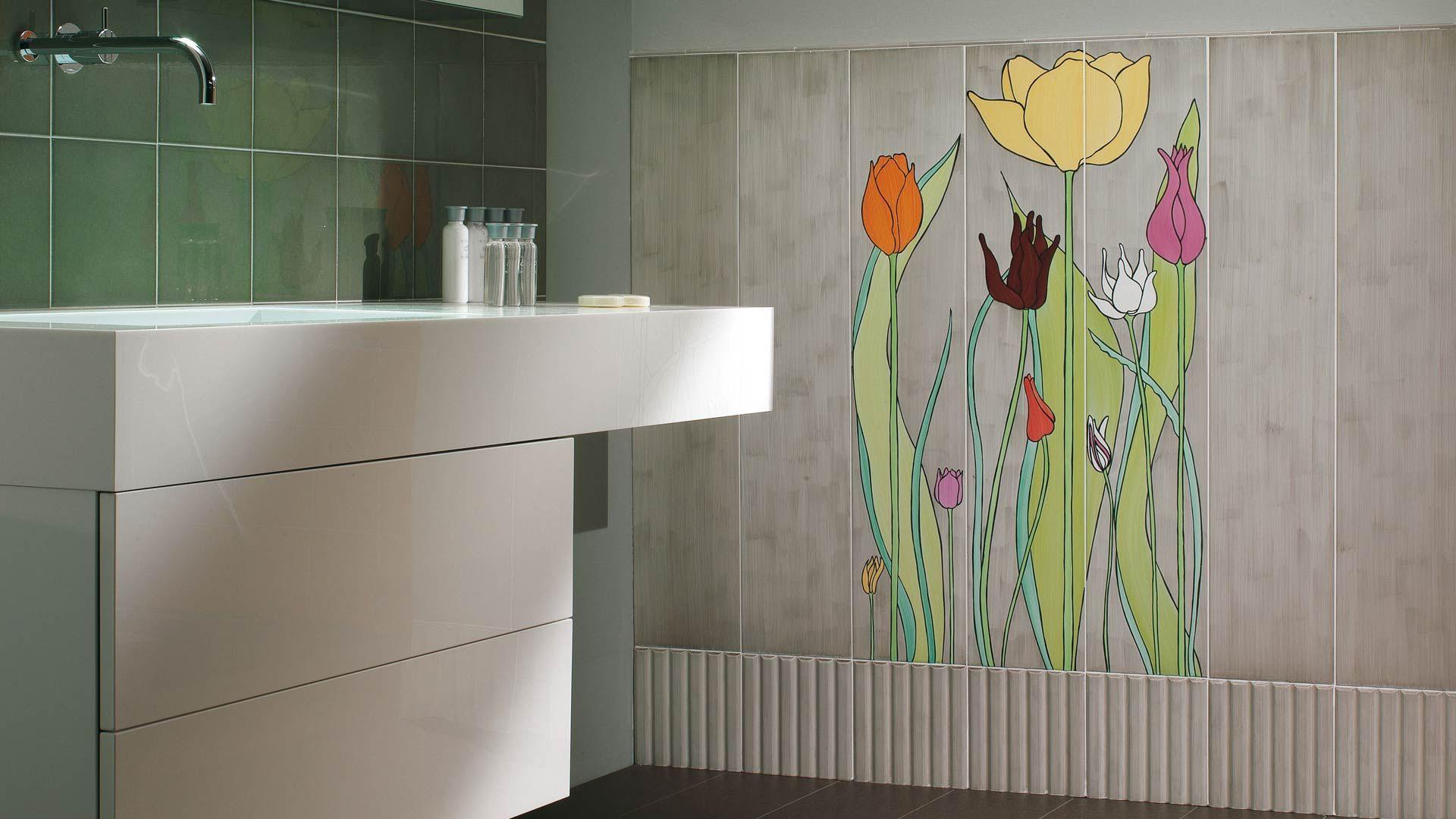 Ceramica bardelli collezione tulipani design di ronald van der