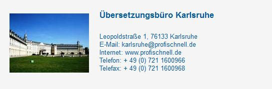 Unser Übersetzungsbüro profischnell.de bietet professionelle und preisgünstige Übersetzungen in mehrere Sprachen und Fachgebiete an. http://www.profischnell.de