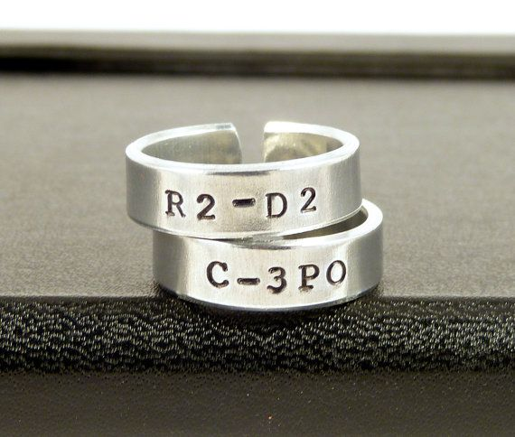 c3po and r2d2 ring set star wars best friends by fromtheinternet 2000 this is - R2d2 Wedding Ring