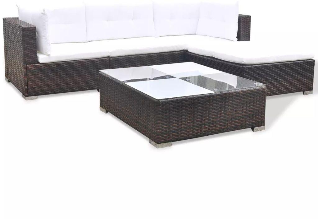 Sensational Outdoor Large Lounge Set Corner Sofa Coffee Table Rattan Alphanode Cool Chair Designs And Ideas Alphanodeonline