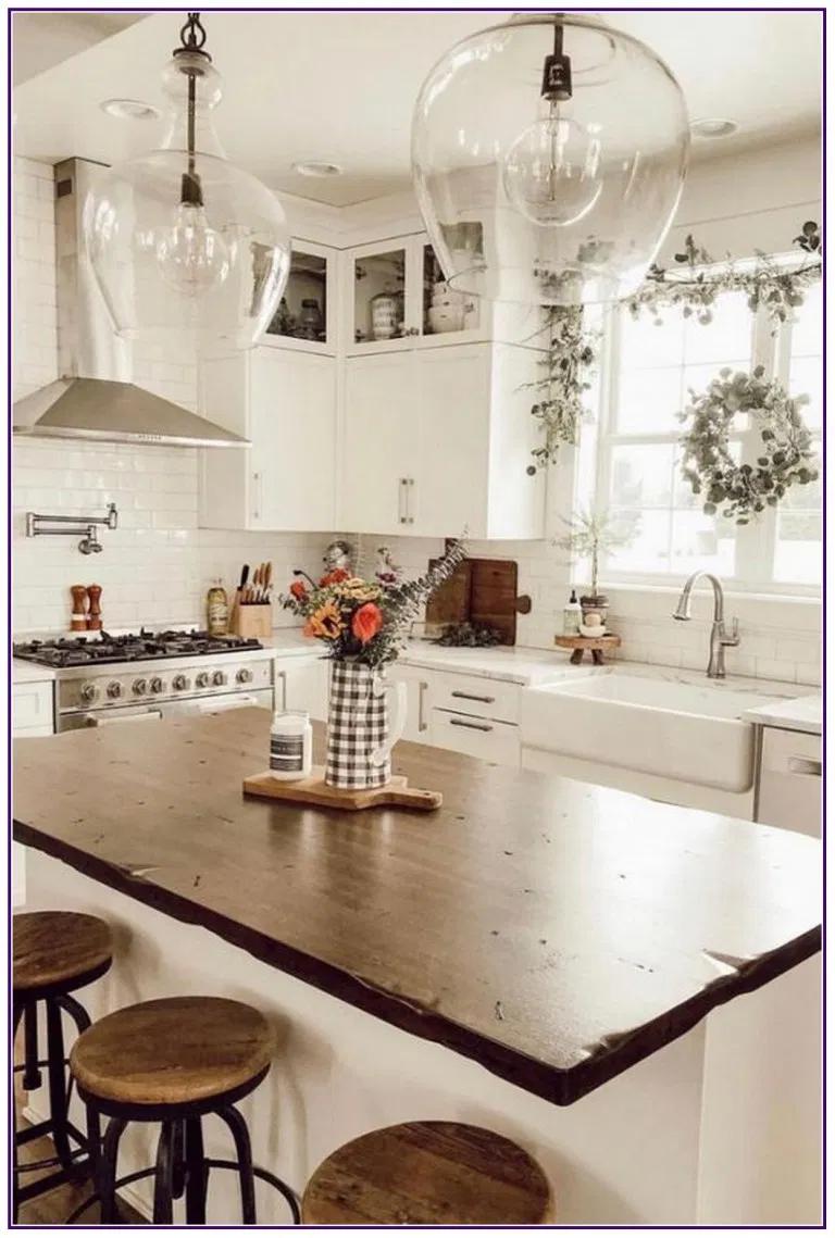 23 farmhouse kitchen ideas on a budget farmhouse kitchen on best farmhouse kitchen decor ideas and remodel create your dreams id=32196